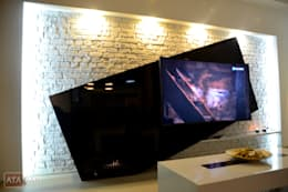 modern Living room by ROAS Mimarlık