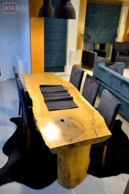 ROAS Mimarlık – Yemek Bölümü - Salon: modern tarz Yemek Odası