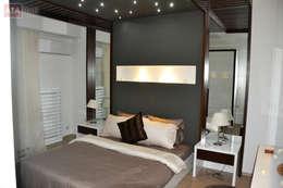 ROAS Mimarlık – Genel Görünüm - Yatak Odası: modern tarz Yatak Odası