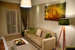 ROAS Mimarlık – Genel Görünüm - Misafir Odası:  tarz İç Dekorasyon