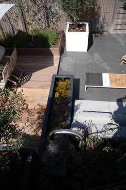 Projekty,  Ogród zaprojektowane przez Biesot