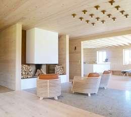 SilvestrinDesign: kırsal tarz tarz Oturma Odası