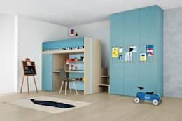 modern Nursery/kid's room by Nubie Kids