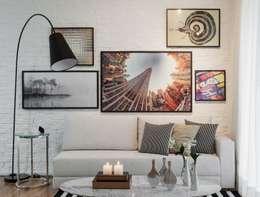 modern Living room by SESSO & DALANEZI