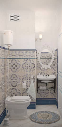 Banheiros clássicos por Katerina Butenko