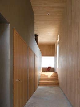 Couloir et hall d'entrée de style  par Diethelm & Spillmann