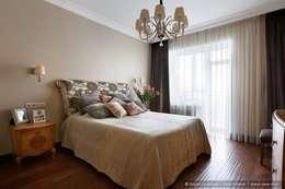Квартира на Петроградке в колониальном стиле: Спальни в . Автор – Ольга Кулекина - New Interior