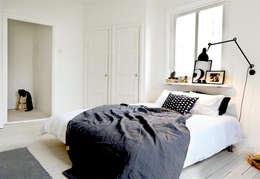 Projekty,  Sypialnia zaprojektowane przez M-S DESIGN