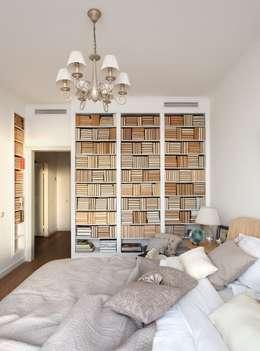 Dormitorios de estilo moderno de White & Black Design Studio
