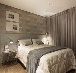 Recámaras de estilo minimalista por Pura!Arquitetura