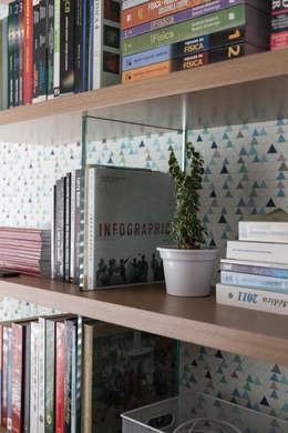modern Study/office by Pura!Arquitetura