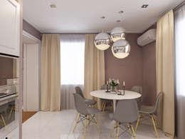 Дизайн загородного дома: Кухни в . Автор – White & Black Design Studio