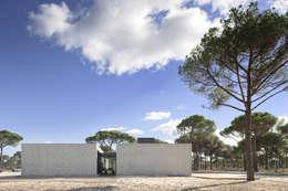 Projekty, nowoczesne Domy zaprojektowane przez RRJ Arquitectos