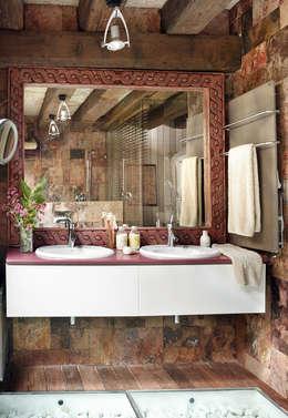 Baños de estilo  por CONSOLIDACIONES Y CONTRATAS S.L