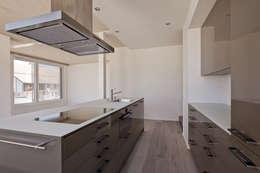 ห้องครัว by Giesser Architektur + Planung