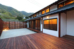 Jardines de estilo  por 株式会社濱田昌範建築設計事務所