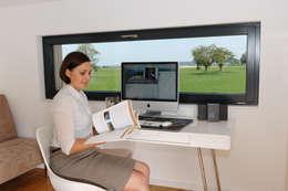 Рабочие кабинеты в . Автор – Bau-Fritz GmbH & Co. KG