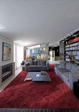 Projekty,  Salon zaprojektowane przez RRJ Arquitectos