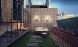 Voltaj Tasarım – ORANIO: modern tarz Bahçe