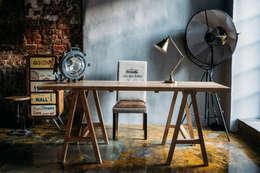 Рабочее пространство от LoftDesigne: Рабочий кабинет  в . Автор – LoftDesigne