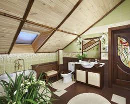 Ванная: Ванные комнаты в . Автор – Архитектурная студия 'Солнечный дом'