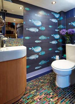 Salle de bains de style  par Etons of Bath