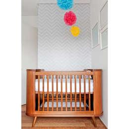 Projekty,  Pokój dziecięcy zaprojektowane przez Ameise Design