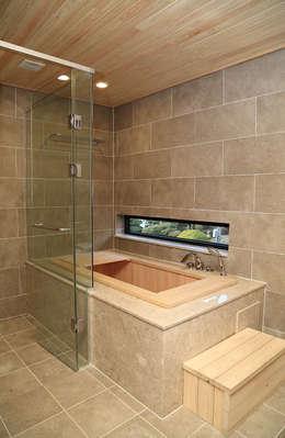 2층 욕실: OUA 오유에이의  화장실