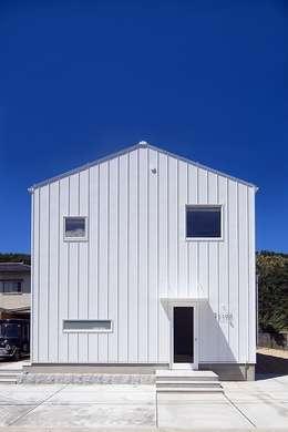 modern Houses by zuiun建築設計事務所 / 株式会社 ZUIUN