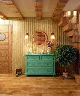Salon de style de stile Rural par MoRo
