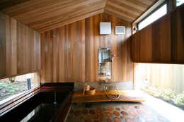 .: 株式会社高野設計工房が手掛けた浴室です。
