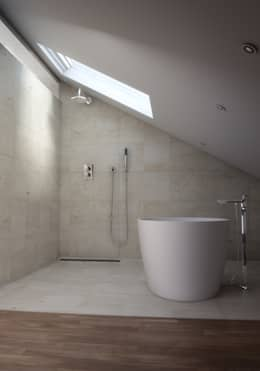 minimalistic Bathroom by Lemons Bucket