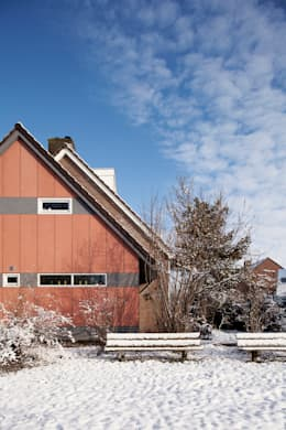 Linker zijgevel - na:   door NarrativA architecten