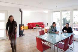Aanzicht vanaf eethoek (na):   door NarrativA architecten