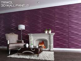 Group Enerji Yapı Dekorasyon – TRIWOL INREDA 3D DUVAR PANELİ:  tarz Duvarlar