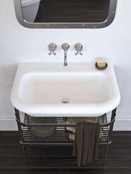 Salle de bain de style de style Moderne par Mamoli Rubinetteria