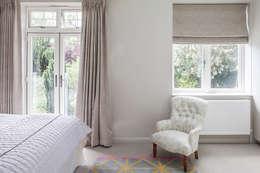 غرفة نوم تنفيذ Nic  Antony Architects Ltd