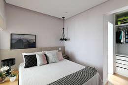 Спальная комната  в . Автор – Duda Senna Arquitetura e Decoração