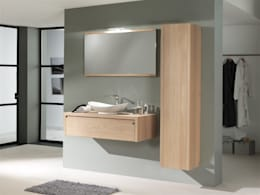 Salle de bain de style de style Méditerranéen par F&F Floor and Furniture
