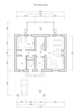 Коттедж в английском стиле:  в . Автор – Архитектурное бюро Киев