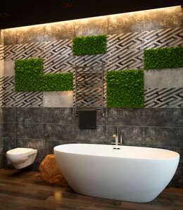 Verge of luxury: Ванные комнаты в . Автор – VAE DESIGN GROUP™