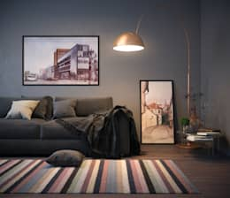 Livings de estilo escandinavo por VAE DESIGN GROUP™