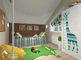 غرفة الاطفال تنفيذ Лаборатория дизайна 'КУБ'