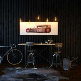 Garajes y galpones de estilo industrial por VAE DESIGN GROUP™