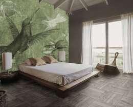 Paredes y pisos de estilo clásico por PIXIE progetti e prodotti
