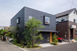 Casas de estilo moderno por 株式会社リオタデザイン