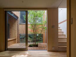 Jardines de estilo moderno por 株式会社リオタデザイン
