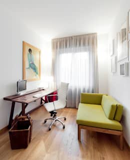 Oficinas de estilo moderno por 23bassi studio di architettura