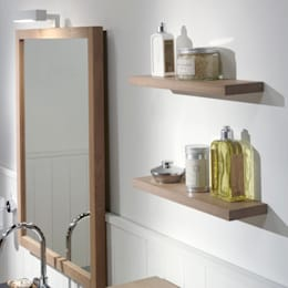 scandinavian Bathroom by F&F Floor and Furniture