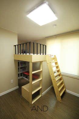 modern Nursery/kid's room by 앤드컴퍼니